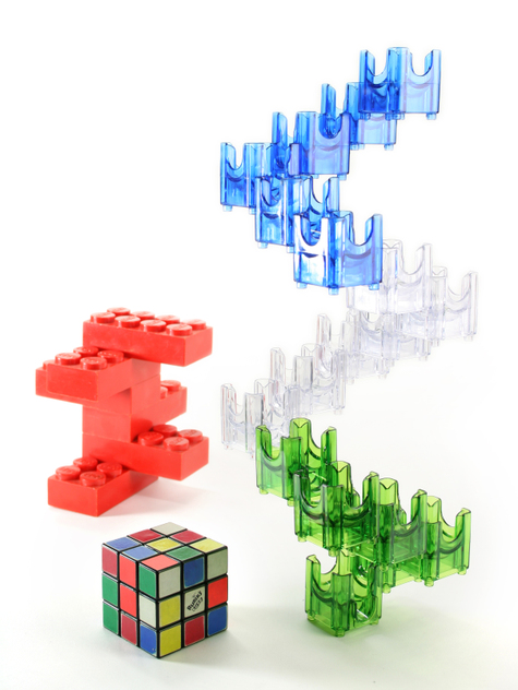 Q-BA-MAZE: 10 Billion Trillion Combinations: Toy Math and